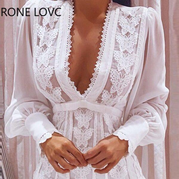 Women-Sheer-Mesh-Puff-Sleeve-Butterfly-Lace-Dress-Women-Dress-3.jpg