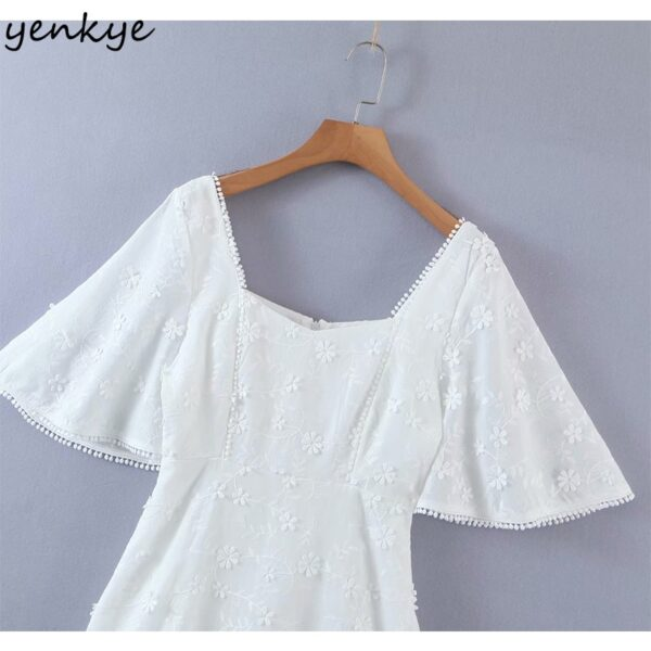 YENKYE-Fashion-Women-Floral-White-Party-Dress-Female-Sexy-Square-Neck-Flare-Sleeve-A-line-Mini-2.jpg