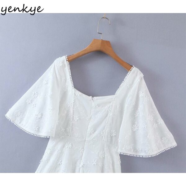 YENKYE-Fashion-Women-Floral-White-Party-Dress-Female-Sexy-Square-Neck-Flare-Sleeve-A-line-Mini-5.jpg