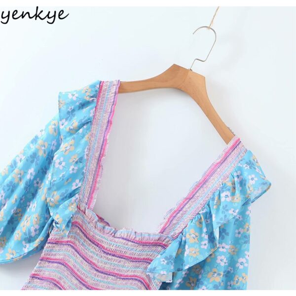 YENKYE-Romantic-Floral-Print-Layered-Ruffle-Dress-Women-Sexy-Square-Neck-Puff-Sleeve-Mini-Summer-Boho-4.jpg