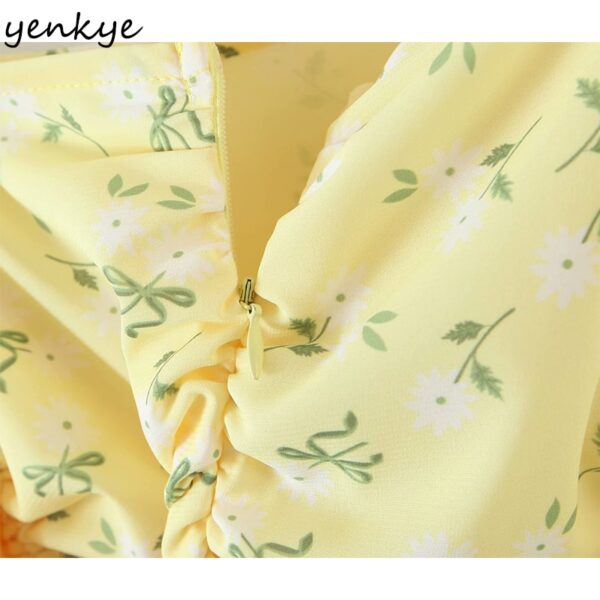 YENKYE-Romantic-Women-Sexy-Draped-Bodycon-Mini-Dress-Female-Yellow-Long-Sleeve-Square-Neck-Chiffon-Summer-5.jpg