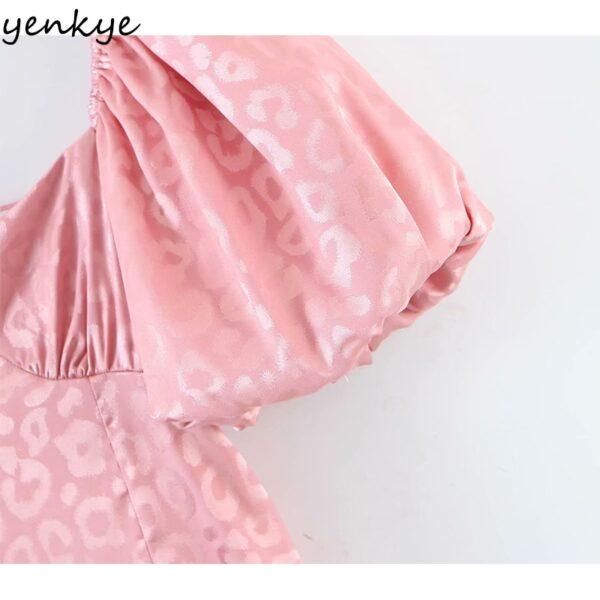YENKYE-Sexy-Backless-Pink-Leopard-Dress-Women-Square-Neck-Puff-Sleeve-High-Waist-A-line-Mini-3.jpg