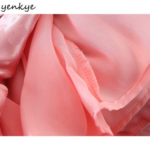 YENKYE-Sexy-Backless-Pink-Leopard-Dress-Women-Square-Neck-Puff-Sleeve-High-Waist-A-line-Mini-5.jpg