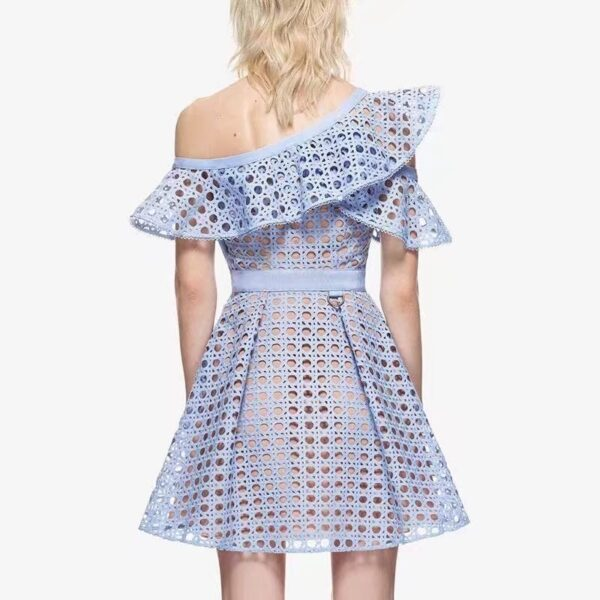 YiLin-Kay-High-end-Custom-Self-Portrait-2019-Women-Hollow-Out-One-Shoulder-Ruffles-Lace-Dress-2.jpg