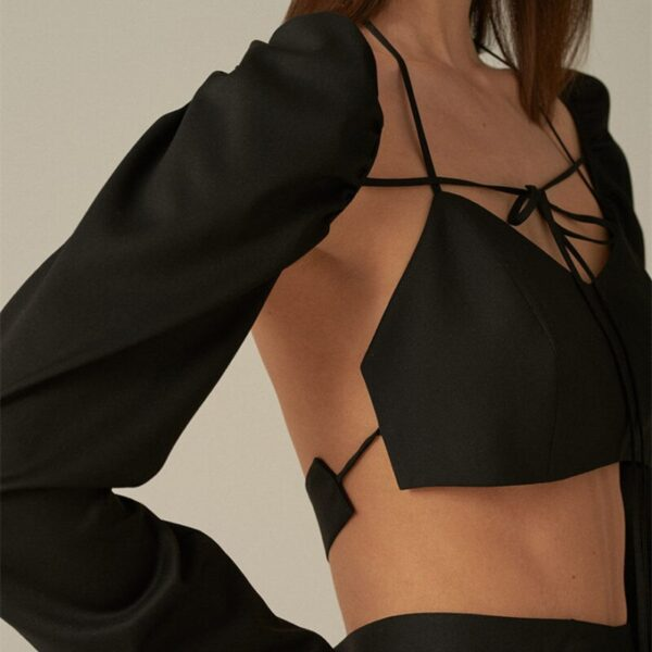Cryptographic-Chic-Fashion-Square-Collar-Bandage-Top-and-Blouse-Lace-Up-Long-Sleeve-Tie-Front-Top-1.jpg