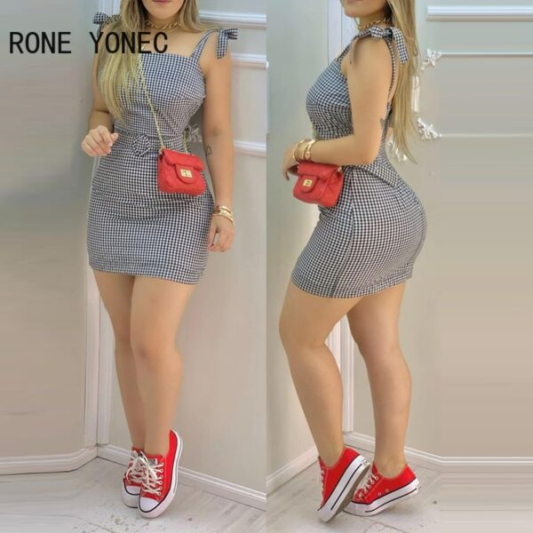 Women-Elegant-Dress-Tied-Shoulder-Plaid-Mini-Dress-With-Waist-Belt-Casual-Dress-Summer-Dress-3.jpg
