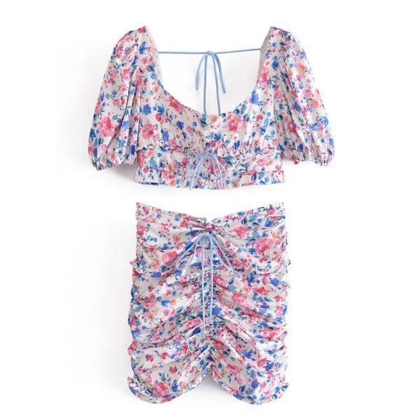 YENKYE-Sexy-Drawstring-Draped-Print-Floral-Skirt-Women-Back-Zipper-High-Waist-Mini-Jupe-Femme-Summer-2.jpg