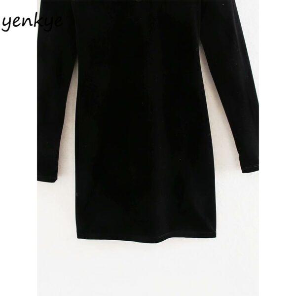 2020-Women-Sexy-Semi-sheer-Gauze-Patchwork-Velvet-Dress-Female-Long-Sleeve-High-Neck-Vintage-Black-3.jpg