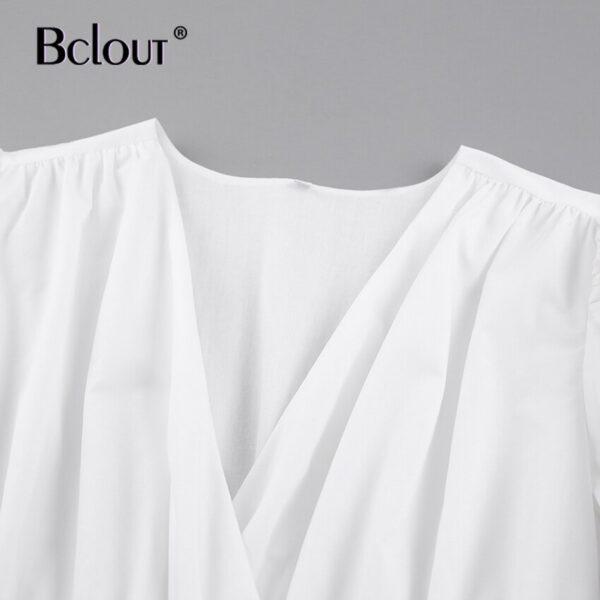Bclout-Elegant-White-Pink-V-Neck-Bodycon-Dress-Women-2021-Summer-Puff-Sleeve-Short-Dress-Casual-4.jpg
