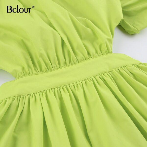 Bclout-Vintage-Green-Puff-Sleeve-Elegant-Woman-Dress-Summer-Shirt-Dresses-Female-Zipper-Fashion-Spring-Sexy-2.jpg