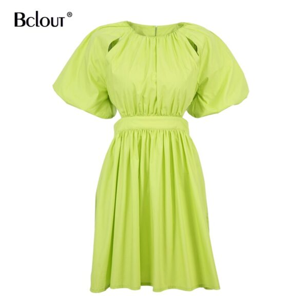 Bclout-Vintage-Green-Puff-Sleeve-Elegant-Woman-Dress-Summer-Shirt-Dresses-Female-Zipper-Fashion-Spring-Sexy-5.jpg