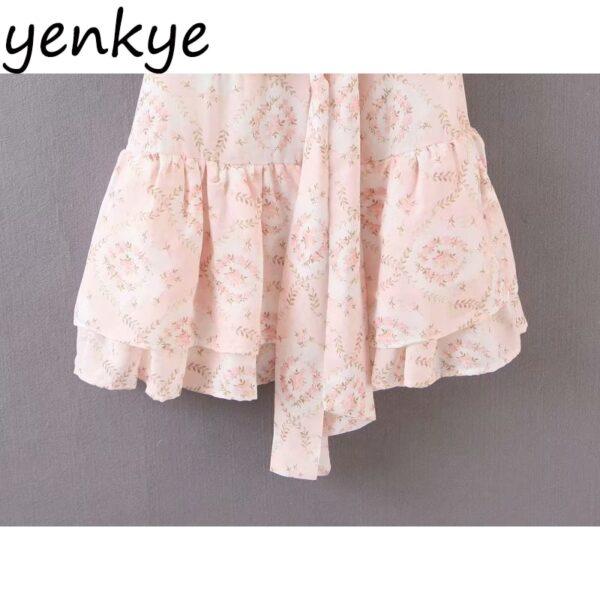 Women-Sweet-Front-Bow-Floral-Print-Mini-Dress-Elegant-Lady-Round-Neck-Half-Sleeve-Hem-Ruffle-4.jpg