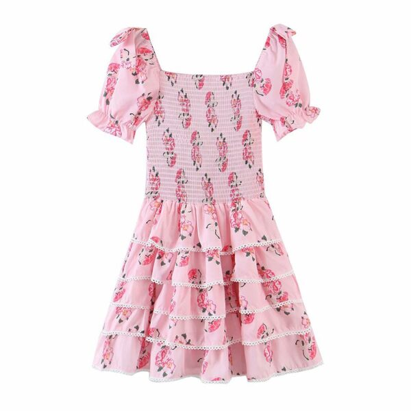 YENKYE-Sweet-Bow-Floral-Print-Pink-Princess-Dress-Women-Puff-Sleeve-Sexy-Lace-Trims-Layered-Party-1.jpg