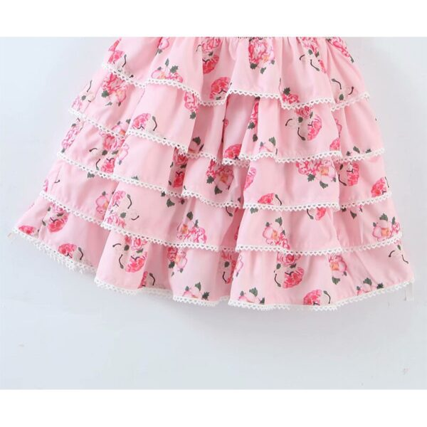 YENKYE-Sweet-Bow-Floral-Print-Pink-Princess-Dress-Women-Puff-Sleeve-Sexy-Lace-Trims-Layered-Party-3.jpg