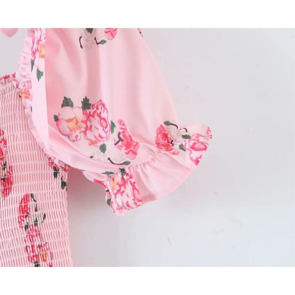 YENKYE-Sweet-Bow-Floral-Print-Pink-Princess-Dress-Women-Puff-Sleeve-Sexy-Lace-Trims-Layered-Party-4.jpg