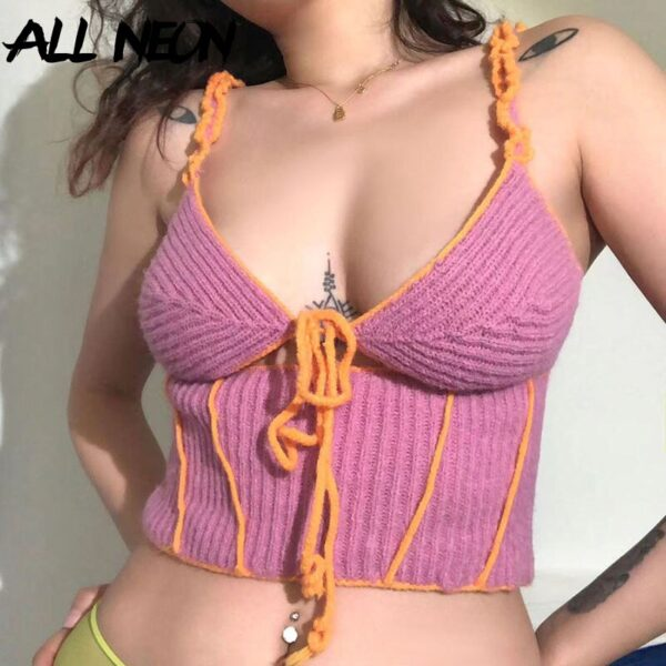 ALLNeon-2000s-Fashion-Hollow-Out-Patchwork-Knitted-Cami-Tops-Y2K-Aesthetics-V-neck-Pink-Lace-Up-4.jpg