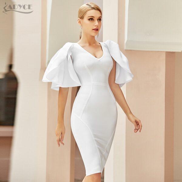Adyce-2021-New-Summer-Women-White-Short-Butterfly-Sleeve-Bodycon-Bandage-Dress-Sexy-V-Neck-Midi-3.jpg