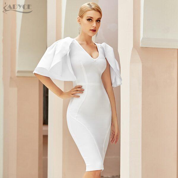 Adyce-2021-New-Summer-Women-White-Short-Butterfly-Sleeve-Bodycon-Bandage-Dress-Sexy-V-Neck-Midi-4.jpg